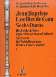 Jean Baptiste Loeillet de Gant Sechs Duette