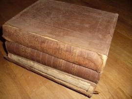 Statenbijbel ; Bijbel dat is de gansche heilige schrift bevattende alle de canonieke boekene des ouden en nieuwen testaments (3 delen)