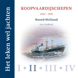 Het leken wel jachten 2 koopvaardijschepen 1945 - 1970
