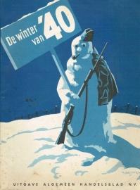 De winter van '40. Uitgave Algemeen Handelsblad N.V.