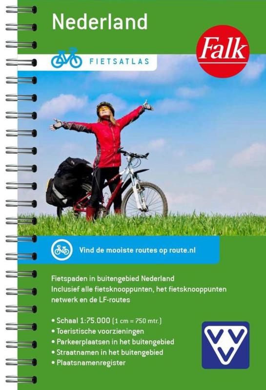 Falkplan ; Overzicht van alle fietsknooppunten in Nederland