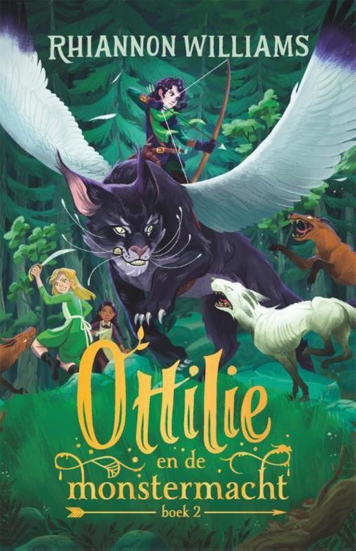 Rhiannon Williams  ; Ottilie en de monstermacht