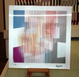 Agamograph Blocks and Stripes