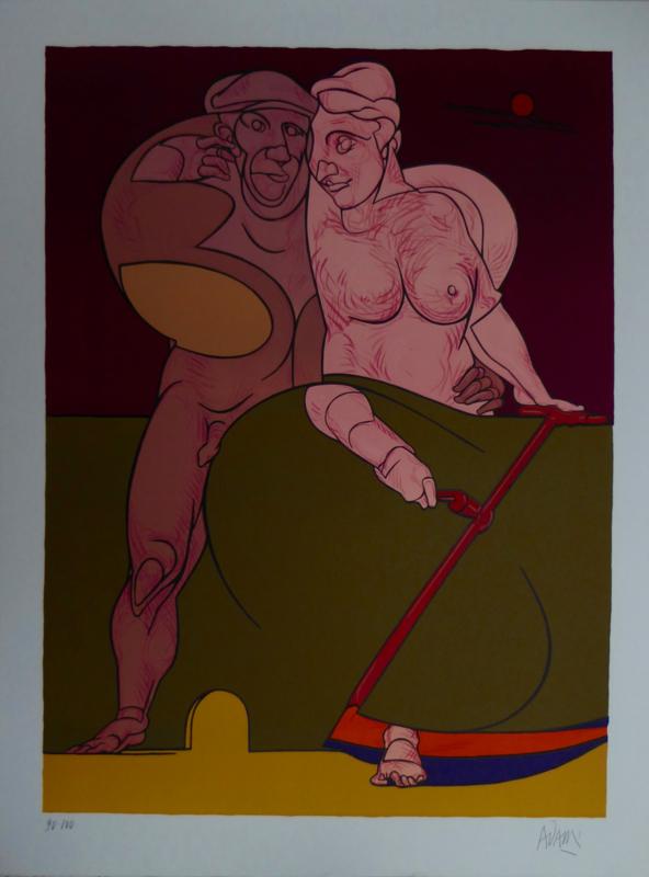 Picassso et la femme Neo-classique