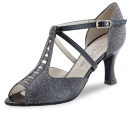 WK-Holly-65-Black Silver Brokade