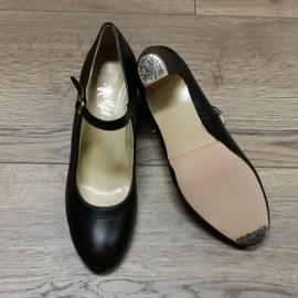 *YBR-CSZ-Black Leather-6cm