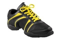 *CAP-DS30-Bolt Dansneaker / YLB (Black & Yellow)