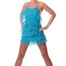 *RTD-Fringe Dress-Vneck line