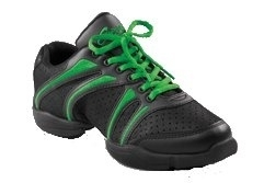 *CAP-DS30-Bolt Dansneaker / BGN (Black & Green)