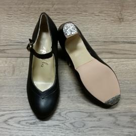 *YBR-CSZ-Black Leather-6cm (V-shape)