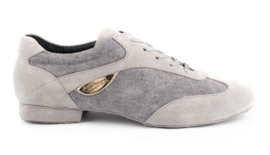 PD-07-Grey Denim-Suede Sole