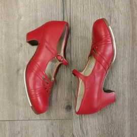 *BC-M15-Red Leather-5cm BA
