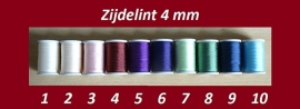 Zijdelint 4 mm (B) - 1, 2, 3 of 5 meter