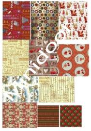 A4 Printvel: Kerstpapier 3