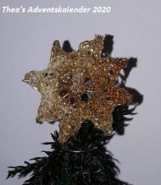 Kerstdecoratie: Kerstster - (zelf maken)