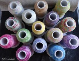 Multi Color garens - € 1,00