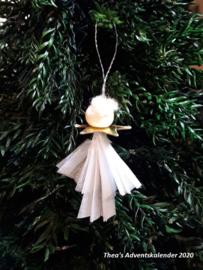 Kerstdecoratie: Engeltje - (zelf maken)