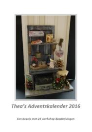 Boekje: Thea's Adventskalender 2016