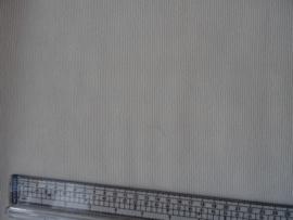 Behang - Creme met kleine glitter