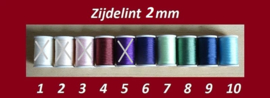 Zijdelint 2 mm (B) - 1, 2, 3 of 5 meter