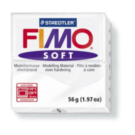 FIMO Soft - nr.0- Wit