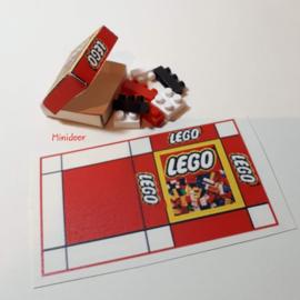 Lego doos (print)