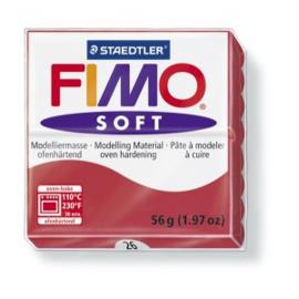 FIMO Soft - nr.26 - Kersenrood