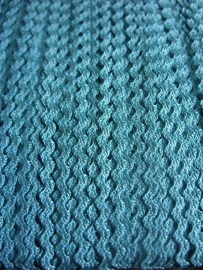 Zigzag 2 mm - Deep Aqua (25)