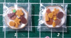 Bordje met koekjes