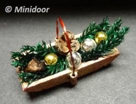 Kerstbakje (zelf maken) / Weihnachtstablett