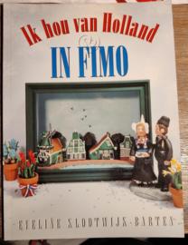 Boek: Ik hou van Holland in Fimo(2e hands)