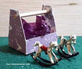 Kerstdecoratie: Hobbelpaardje (3) - (zelf maken)