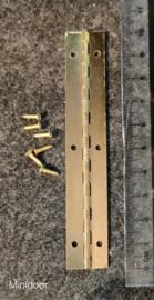 Pianoscharnier 10 cm