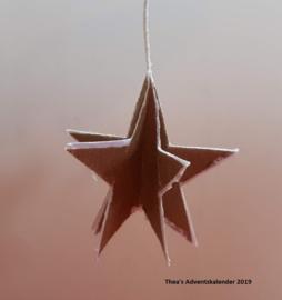 Kerstster (zelf maken)