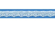 Fine Cotton Lace 14 - Wit