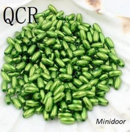 Rijstkorrel 4 x 8 mm - Groen