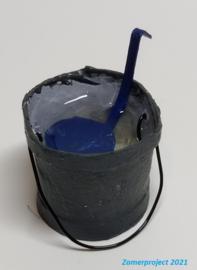 Spoelemmer met soeplepel (zelf maken)