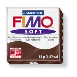 FIMO Soft - nr.75 - Chocolade