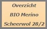 Bio Merino Scheerwol Nm 28/2