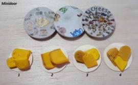 Plateau met stukjes kaas (3)