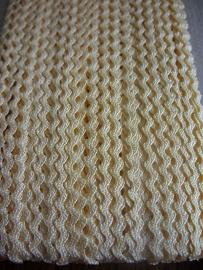 Zigzag 2 mm - Baby geel (20)