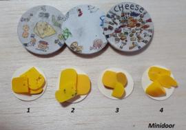 Plateau met stukjes kaas (1)