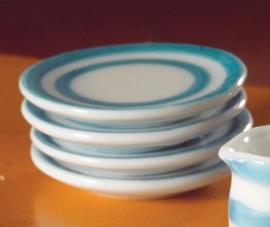Porseleinen bord - ø 32 mm
