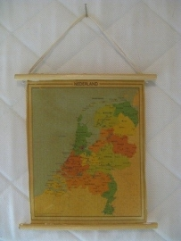 Landkaart van Nederland (zelf maken)