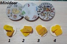 Plateau met stukjes kaas (2)