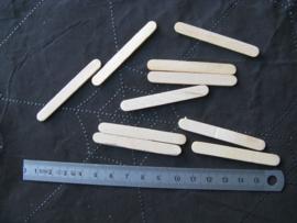 Knutselhoutjes 55 mm lang