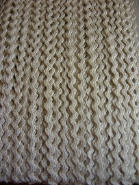 Zigzag 2 mm - Cream (04)