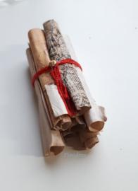 Oude Perkamentrollen (zelf maken)