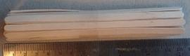 Knutselhoutjes 140 x 5 mm