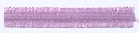 Dubbele Franjeband  - Dusty Lilac
